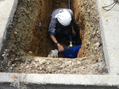 2019年1月25日 2019年年賀状 つくば市上の室土浦電子水道管引込み工事 その15_d0249595_17242524.jpg