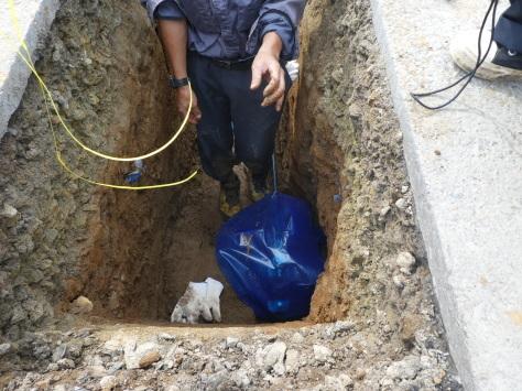 2019年1月25日 2019年年賀状 つくば市上の室土浦電子水道管引込み工事 その15_d0249595_17245779.jpg