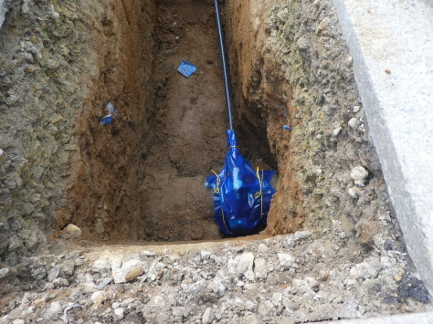 2019年1月25日 2019年年賀状 つくば市上の室土浦電子水道管引込み工事 その15_d0249595_17255107.jpg