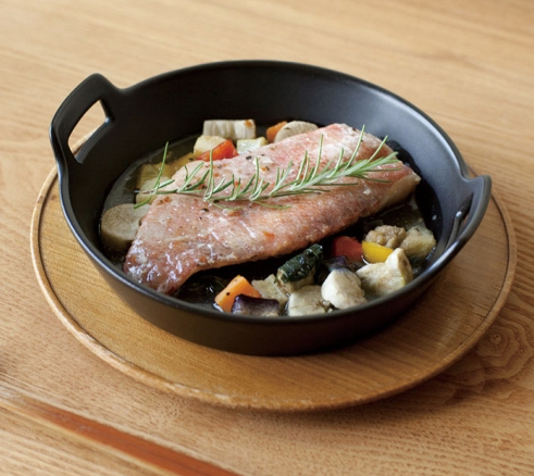 耐熱食器 「ロティ」グリルキャセロール / 4th-market_d0193211_12581140.jpg