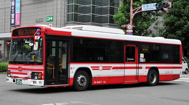 京阪バス~エルガ・ノンステップバス  N-6217_a0164734_22274746.jpg
