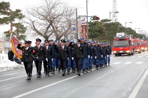 祝 十和田市消防出初式_f0237658_15000291.jpg