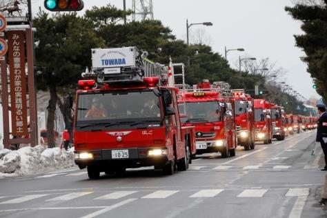 祝 十和田市消防出初式_f0237658_15004941.jpg