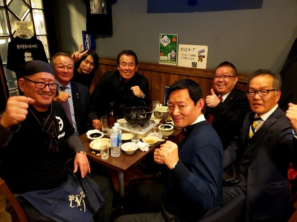 力道山さんの奥様の出版記念パーティにご招待いただき、帝国ホテルへ。_c0186691_13150878.jpg