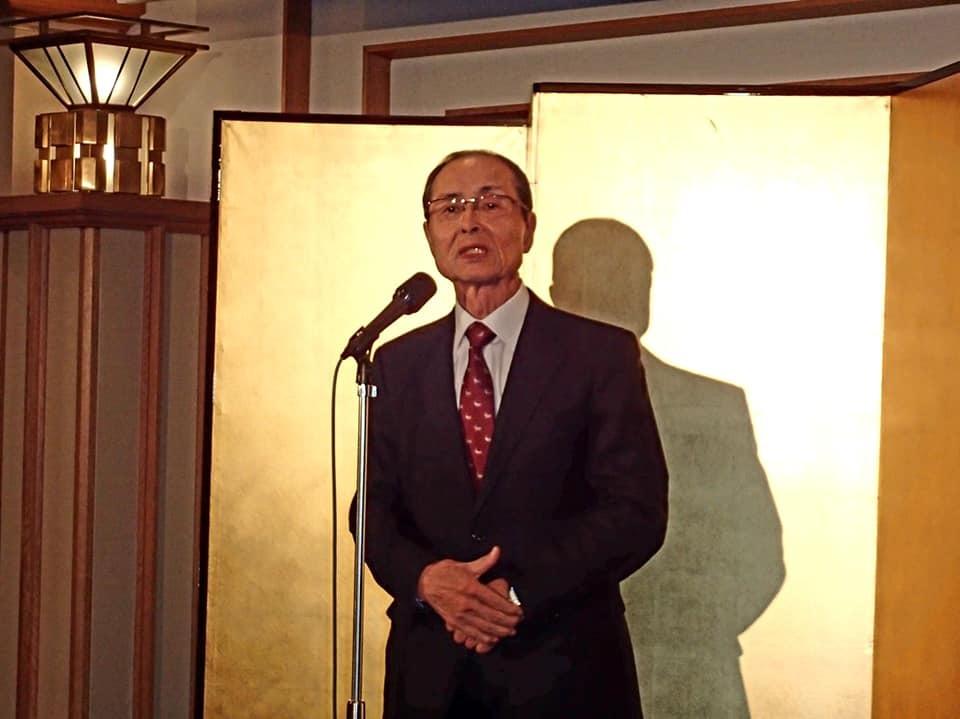 力道山さんの奥様の出版記念パーティにご招待いただき、帝国ホテルへ。_c0186691_13171692.jpg