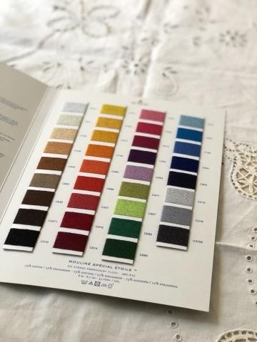 DMC社 新製品 さりげないラメ入り25番刺繍糸ETOILE 「エトワール」35色_a0157409_14183415.jpeg