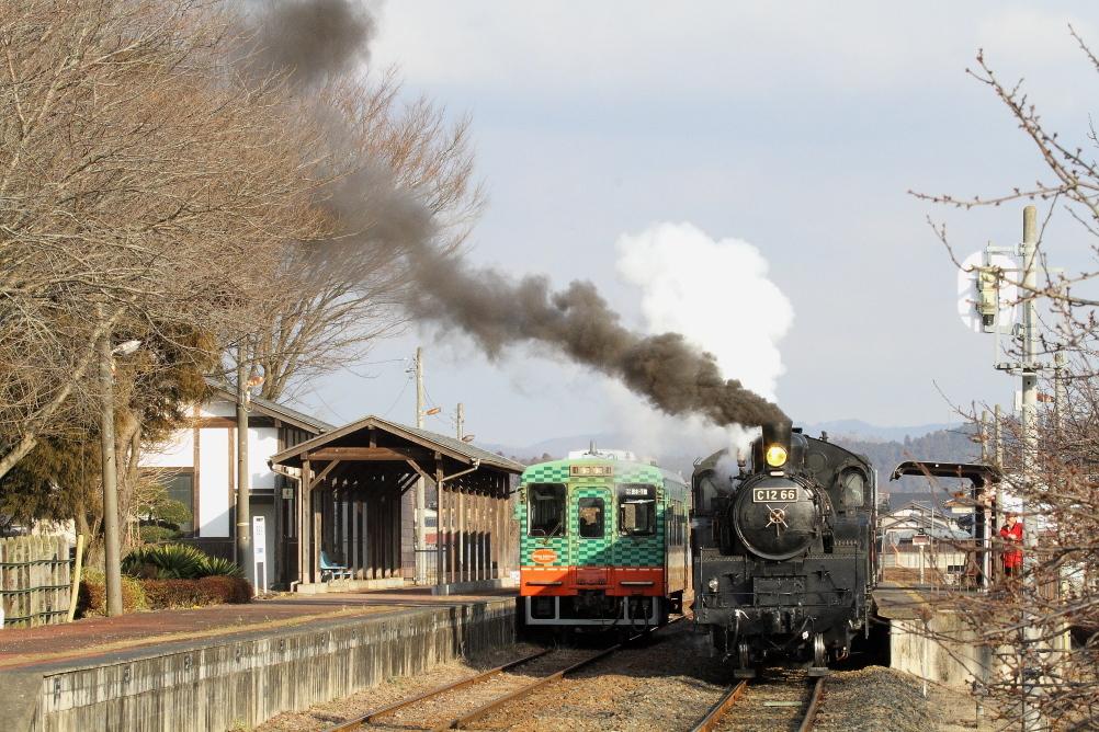 煙が倒れる~ - 2017年・真岡鉄道 -_b0190710_23302088.jpg