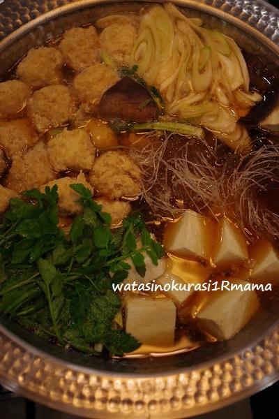 寒い夜は鍋を食べよう♪_c0365711_14245143.jpg