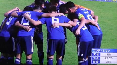 1/21(月) アジアカップ サウジアラビア戦_a0059812_11341488.jpg