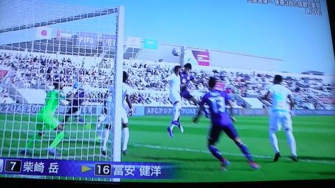 1/21(月) アジアカップ サウジアラビア戦_a0059812_11354251.jpg
