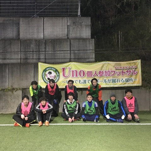 UNO 1/22(火) at UNOフットボールファーム_a0059812_15553427.jpg
