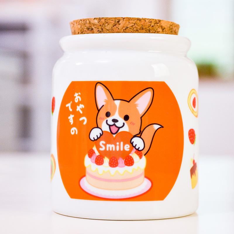 Smileちゃん、ぽちくん、さくらちゃん おやつポット_d0102523_19192691.jpg