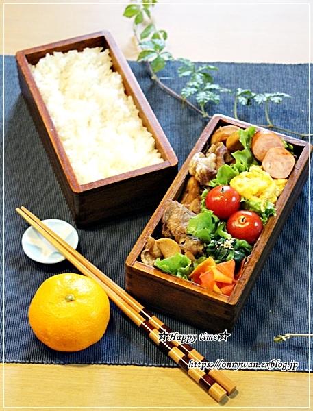豚の生姜焼き弁当と今夜はハンバーグ♪_f0348032_18215775.jpg