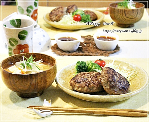 豚の生姜焼き弁当と今夜はハンバーグ♪_f0348032_18221073.jpg