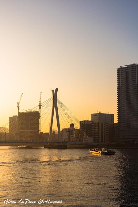 東京の風景 夕暮れの隅田川_b0133053_00402789.jpg