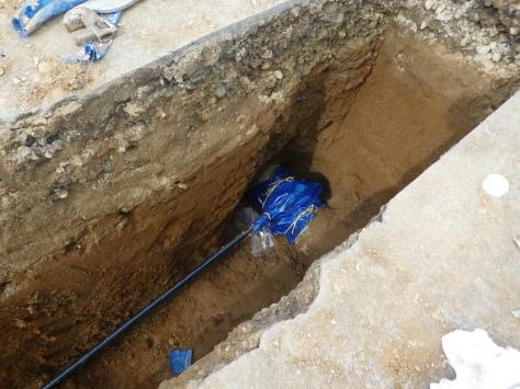 2019年1月26日 2019年年賀状 つくば市上の室土浦電子水道管引込み工事 その16_d0249595_14001443.jpg