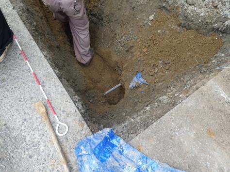 2019年1月26日 2019年年賀状 つくば市上の室土浦電子水道管引込み工事 その16_d0249595_14011660.jpg