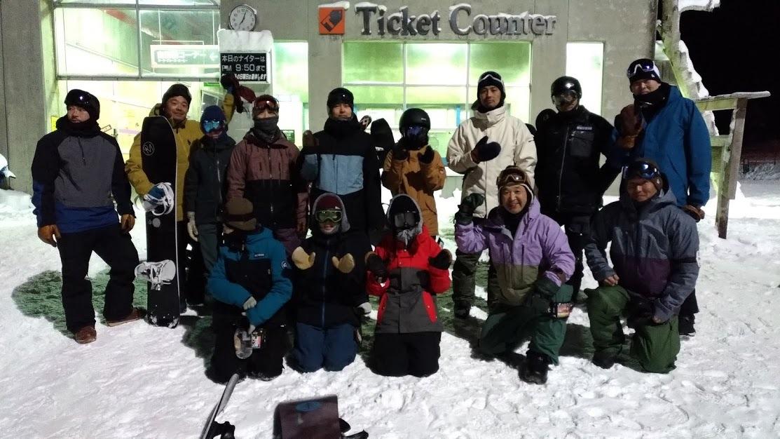 ナイター滑ろう会開催しました!_f0229217_23141055.jpg