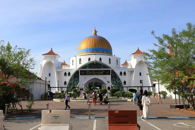 【マラッカ海峡モスク】【青雲亭】マレーシア旅行 - 2 -_f0348831_21570605.jpg