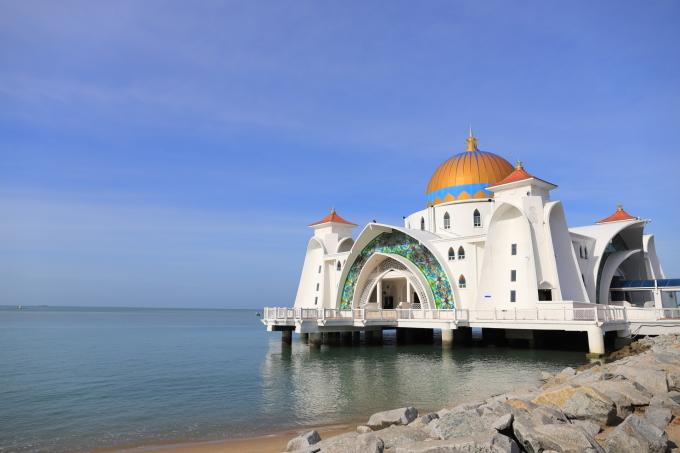 【マラッカ海峡モスク】【青雲亭】マレーシア旅行 - 2 -_f0348831_21570773.jpg