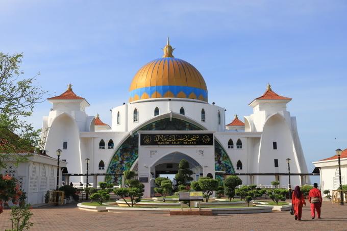 【マラッカ海峡モスク】【青雲亭】マレーシア旅行 - 2 -_f0348831_21571299.jpg