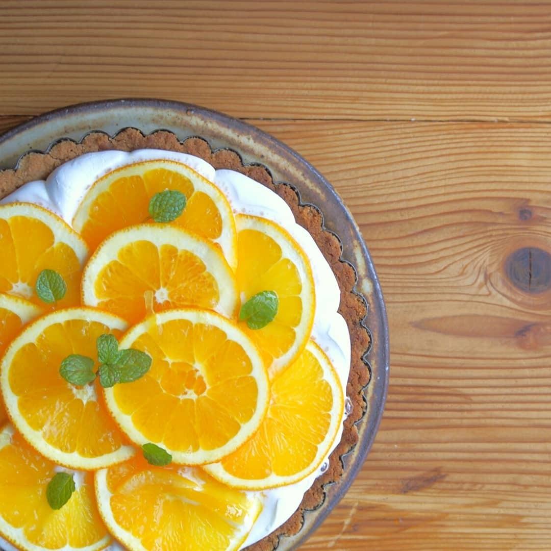 オレンジ皿_b0277136_11484756.jpg