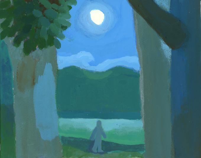 日が暮れて月がのぼる_b0194880_18584137.jpg