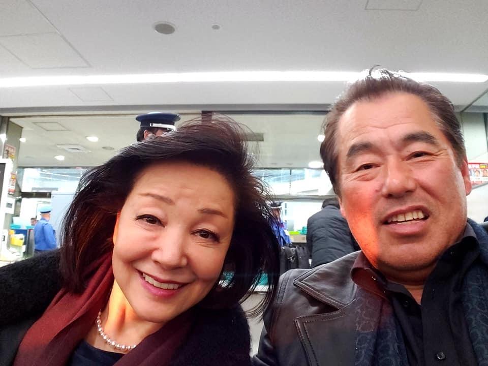 我が故郷初のメジャーリーガー、ガンチャンのチャリティーコンペ応援のため、千葉県の平川カントリーへ。_c0186691_18322378.jpg