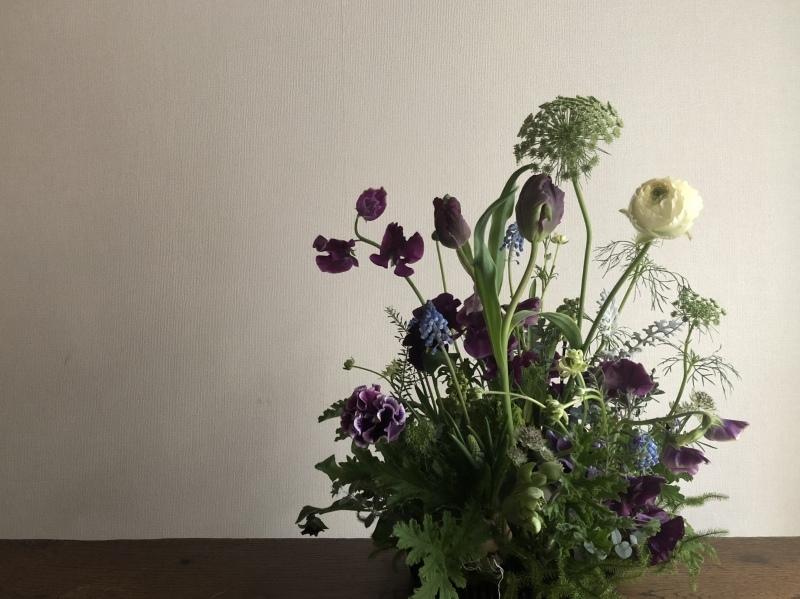 2月のハナクラス  春の花とミモザ_d0104091_17391838.jpeg