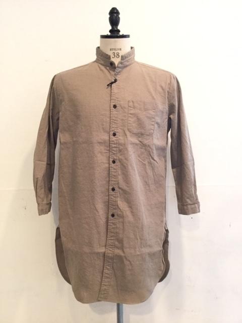 コットンリネン素材の軽やかなシャツコート_d0174308_14465498.jpeg