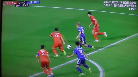 1/24(木) アジアカップ準々決勝 ベトナム戦_a0059812_16480886.jpg