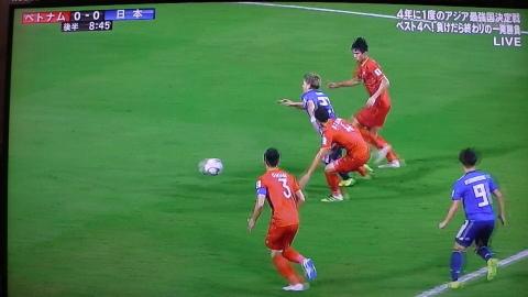 1/24(木) アジアカップ準々決勝 ベトナム戦_a0059812_16480993.jpg
