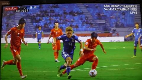 1/24(木) アジアカップ準々決勝 ベトナム戦_a0059812_16521729.jpg