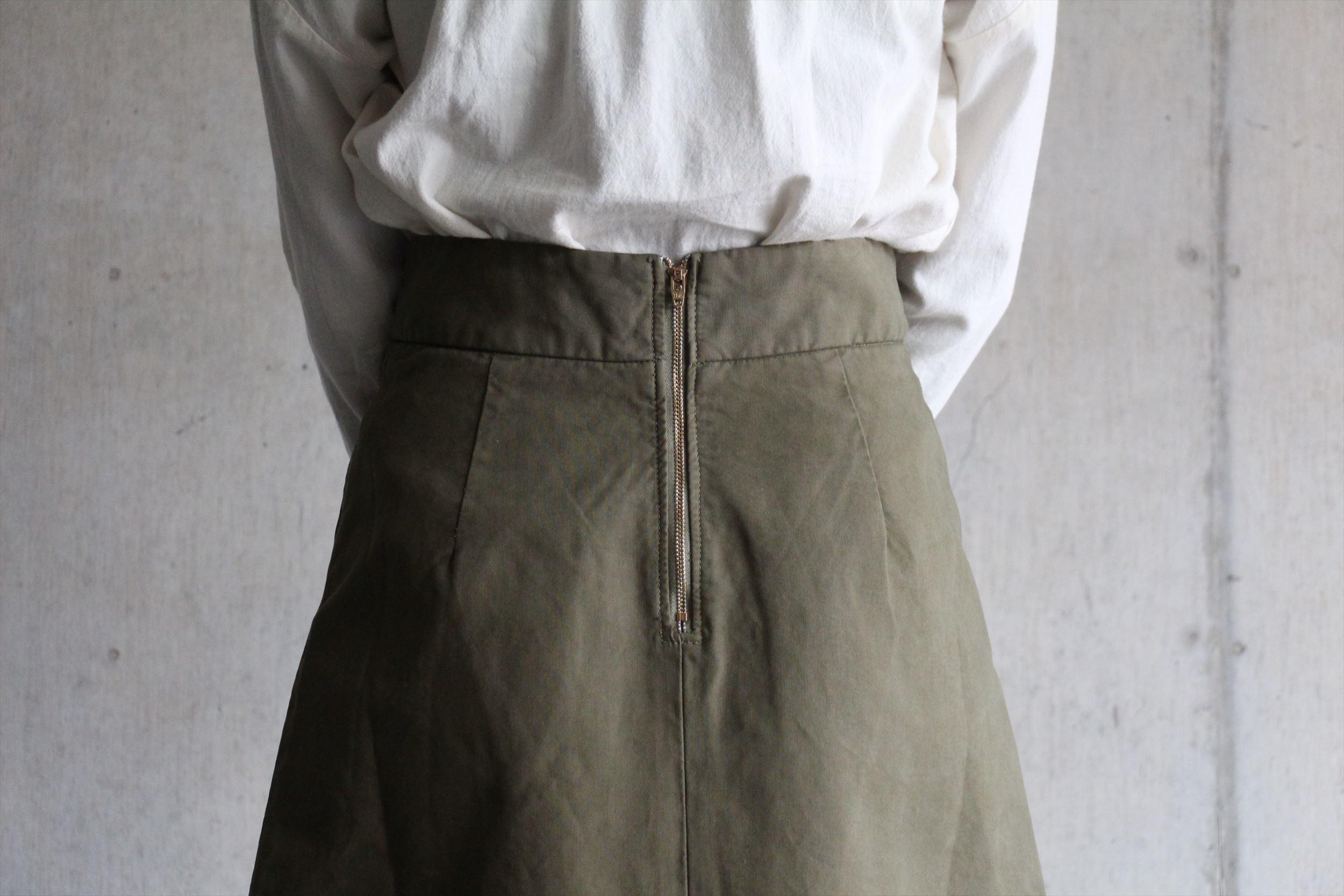 2wayボタンシャツ、ロングスカート_b0165512_17245300.jpg