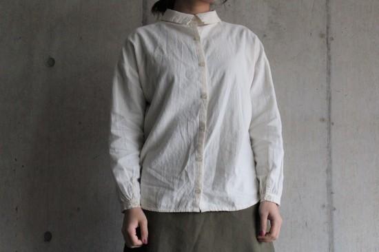 2wayボタンシャツ、ロングスカート_b0165512_17251335.jpg
