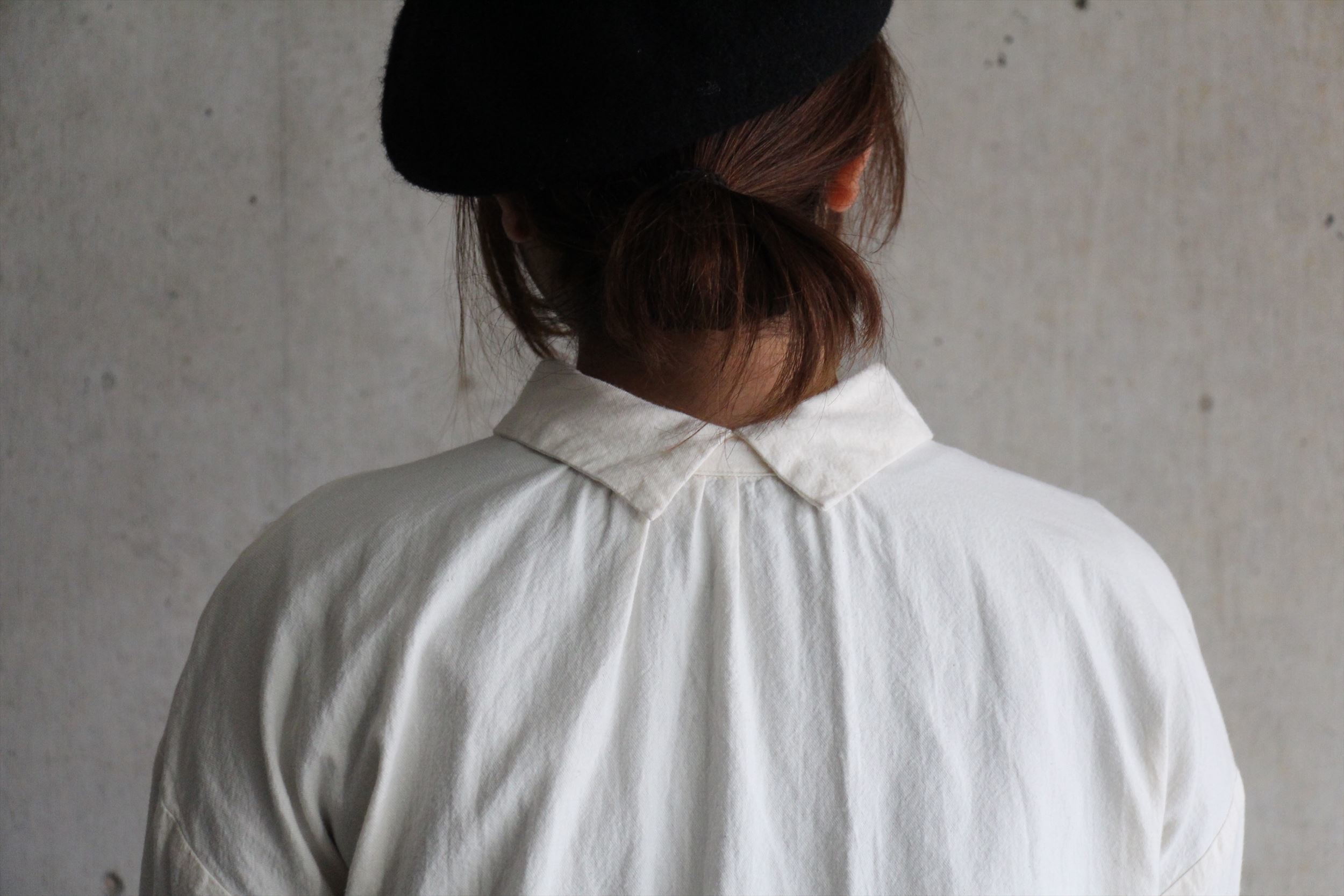 2wayボタンシャツ、ロングスカート_b0165512_17251652.jpg
