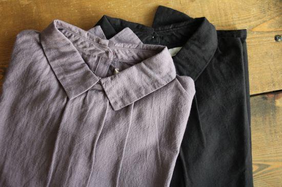 2wayボタンシャツ、ロングスカート_b0165512_17252136.jpg