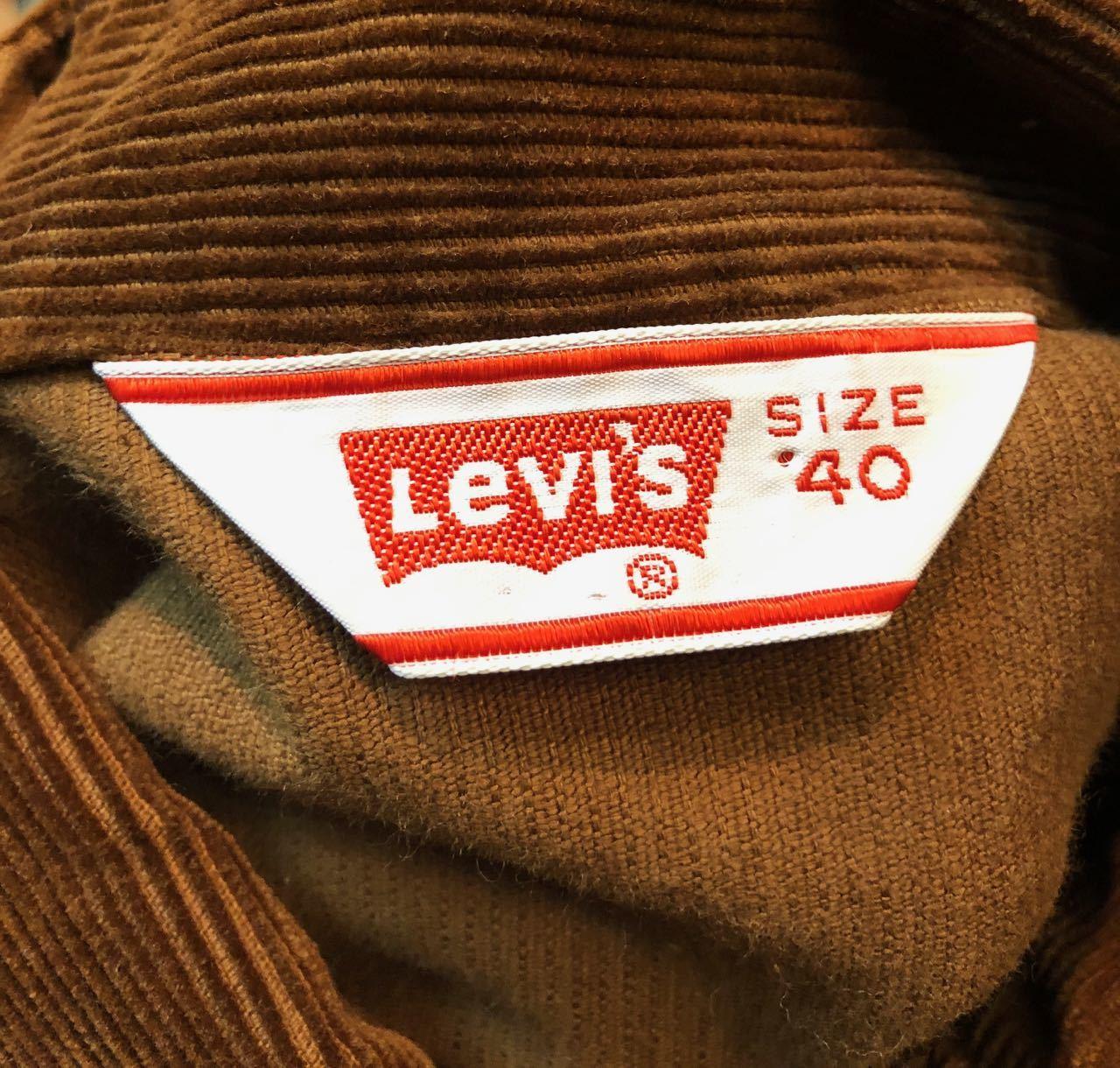 1月26日(土)入荷!Levi\'s リーバイス コーデュロイジャケット! _c0144020_16183429.jpg