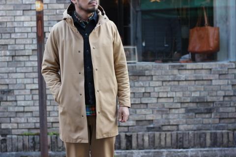 """Jackman 度詰めジャージーシリーズ最後は \""""Jersey Coat\"""" ご紹介_f0191324_09080462.jpg"""