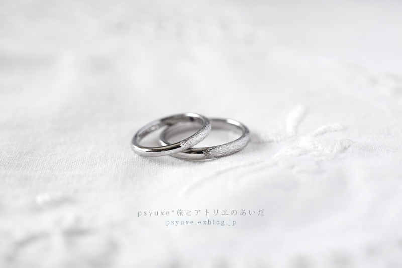 Marriage Ring / マリッジリング / 結婚指輪*愛知県 M様&N様 _e0131432_21422156.jpg