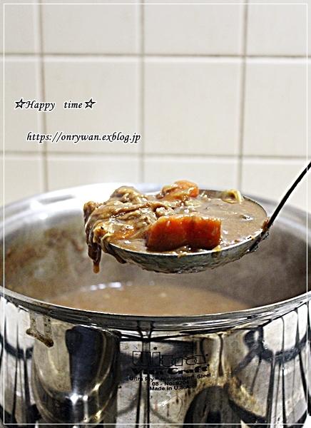 カレーライス弁当とヨーグルト酵母♪_f0348032_17444016.jpg