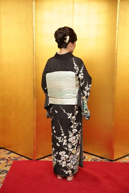 10周年・久子さま・羽田登さん訪問着に西陣まいづる帯_f0181251_17133894.jpg