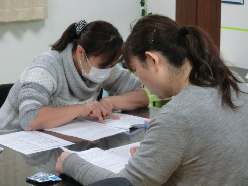 第11回介護福祉士試験勉強会!_d0178056_21021544.jpg