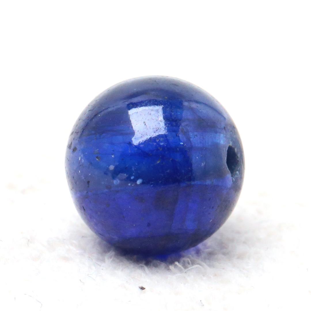 鉛ガラス含浸処理サファイア8ミリビーズ_d0303974_06032256.jpg