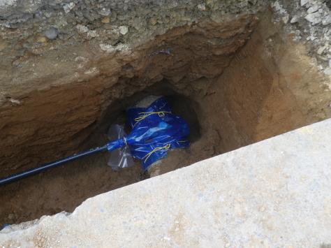 2019年1月27日 2019年年賀状 つくば市上の室土浦電子水道管引込み工事 その17_d0249595_18390540.jpg