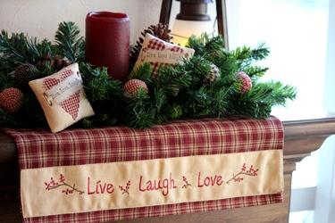 Peterboro の新作バスケットと「Live Laugh Love」_f0161543_16564884.jpg