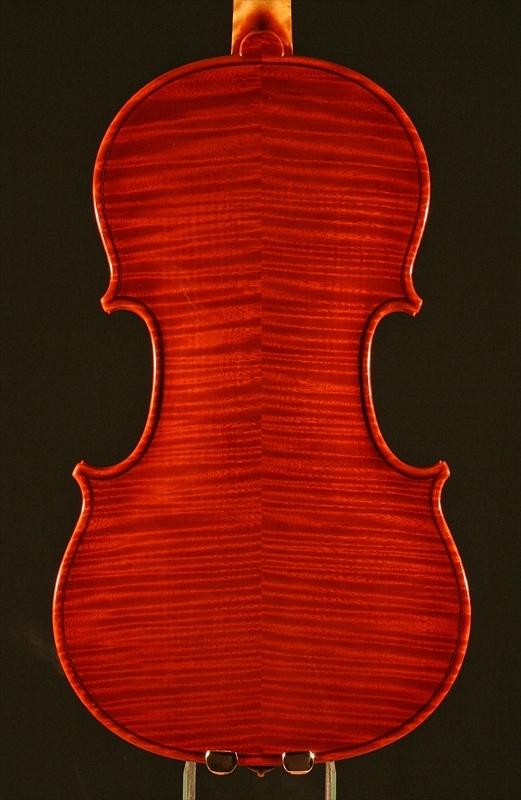 """2007年 ヴァイオリン ガリンベルティ・モデル """"1970""""_a0197551_08044414.jpg"""
