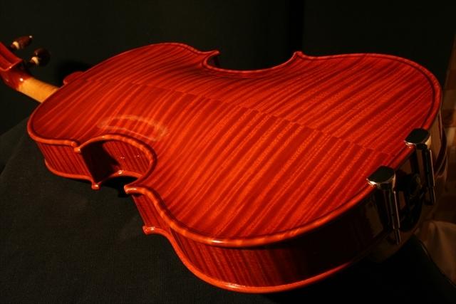 """2007年 ヴァイオリン ガリンベルティ・モデル """"1970""""_a0197551_08045994.jpg"""