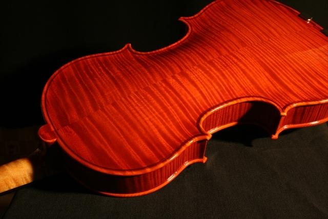 """2007年 ヴァイオリン ガリンベルティ・モデル """"1970""""_a0197551_08051178.jpg"""
