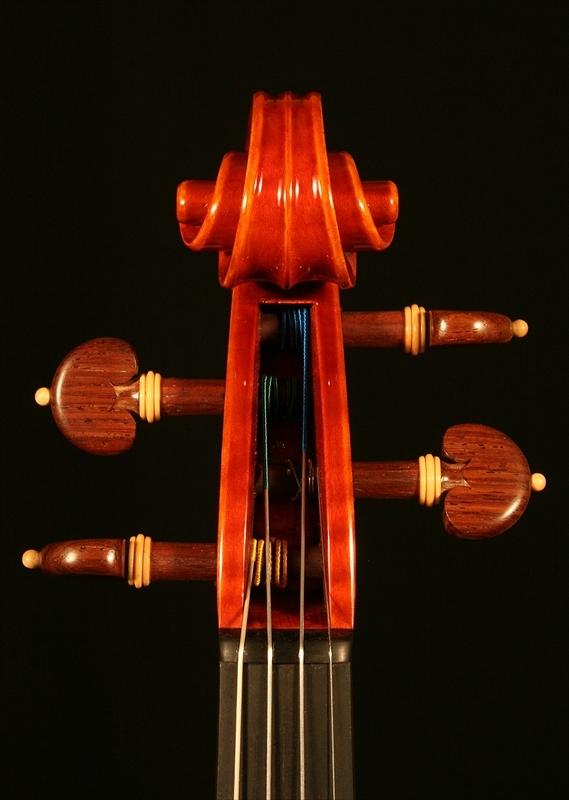 """2007年 ヴァイオリン ガリンベルティ・モデル """"1970""""_a0197551_08061254.jpg"""